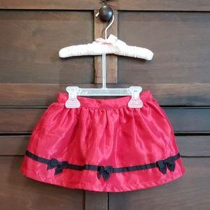 Girls holiday skirt